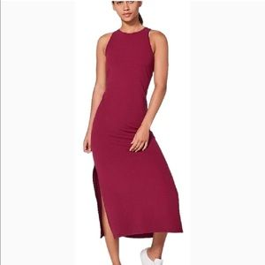 Lululemon Get Going Dress in ruby wine color